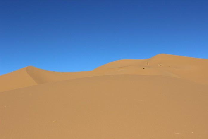 Барханы пустыни Сахара