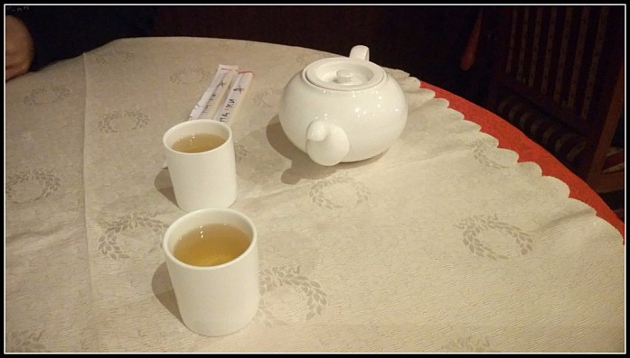 Не подать зелёный чай посетителю перед едой - признак дурного тона