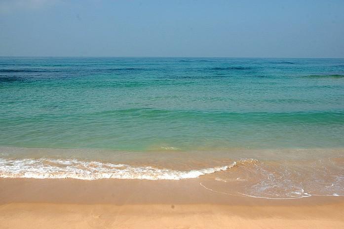 Океан и все пляжи просто невероятно чистые
