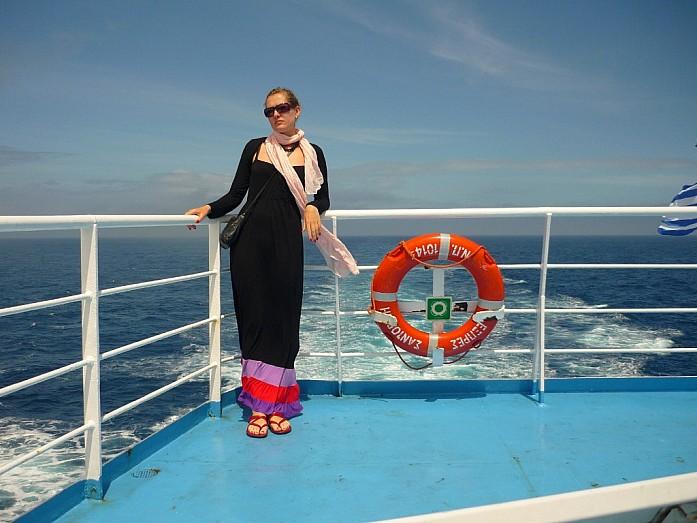 Идем на пароходе по Атлантике