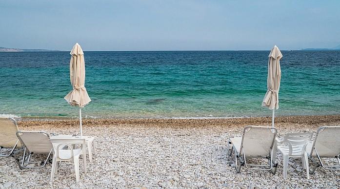 пляжи на Корфу