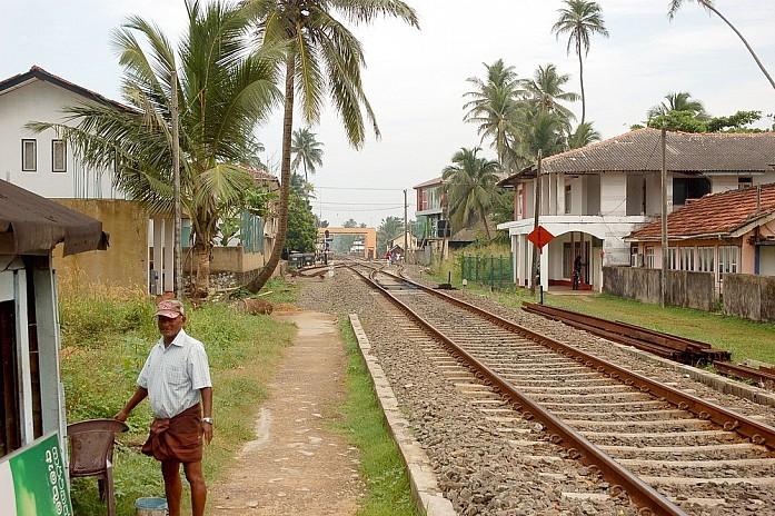 Смотритель на железной дороге