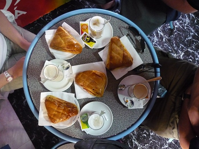 Завтрак на Sao Jorge