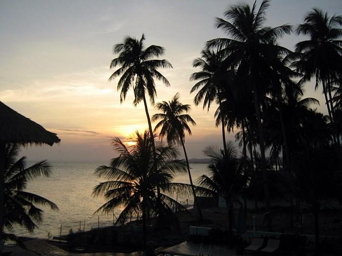 Закаты во Вьетнаме захватывают дух