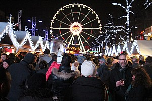 Новогодние праздники в Брюсселе