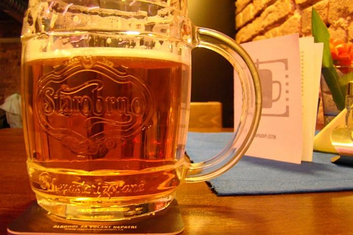 пиво Старобрно