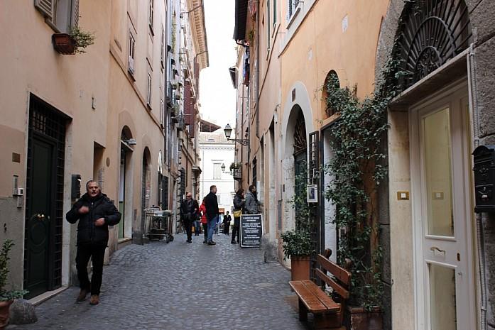 Еврейский квартал в Риме