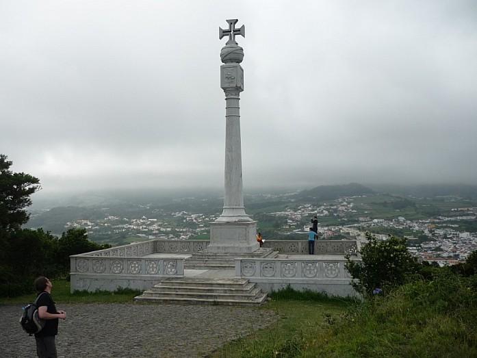 Вид с вершины Angra do Heroismo