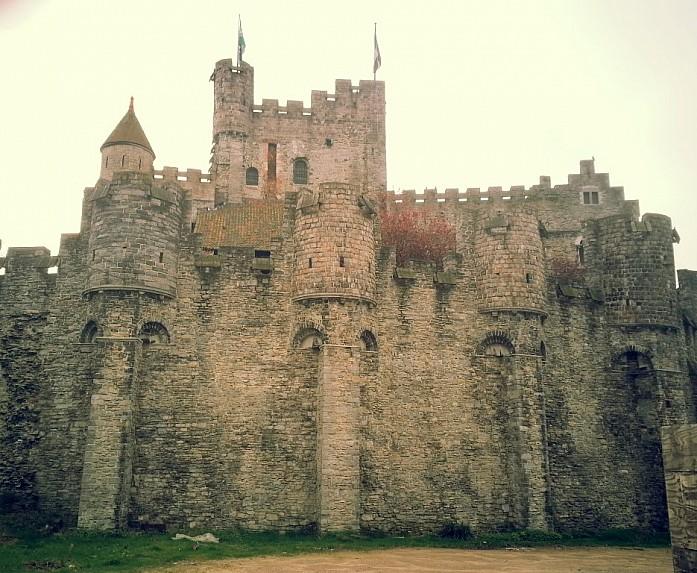 <em>Гравенстен, или замок графов Фландрии, Гент</em>