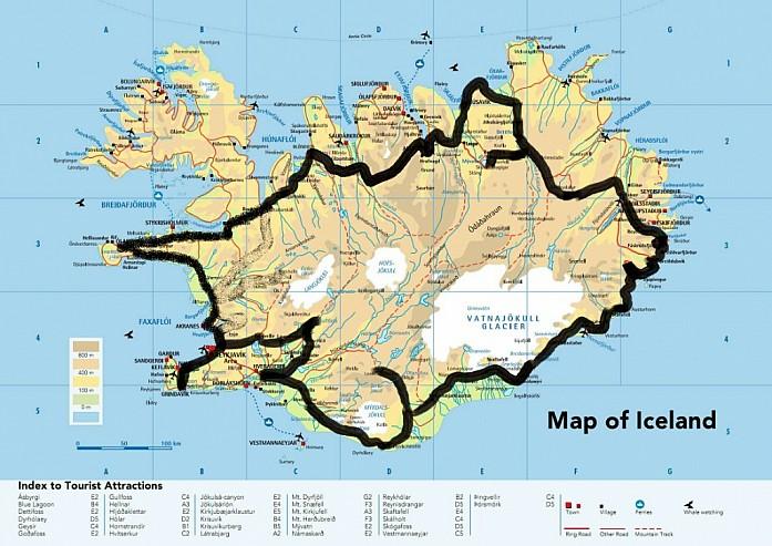 Карта маршрута для посольства