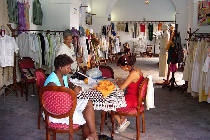 Кубинский магазин одежды
