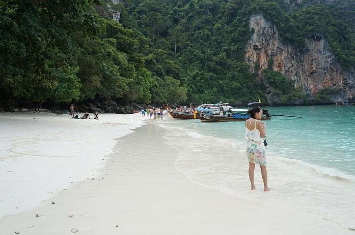 Пляж на острове Пи-Пи-Дон