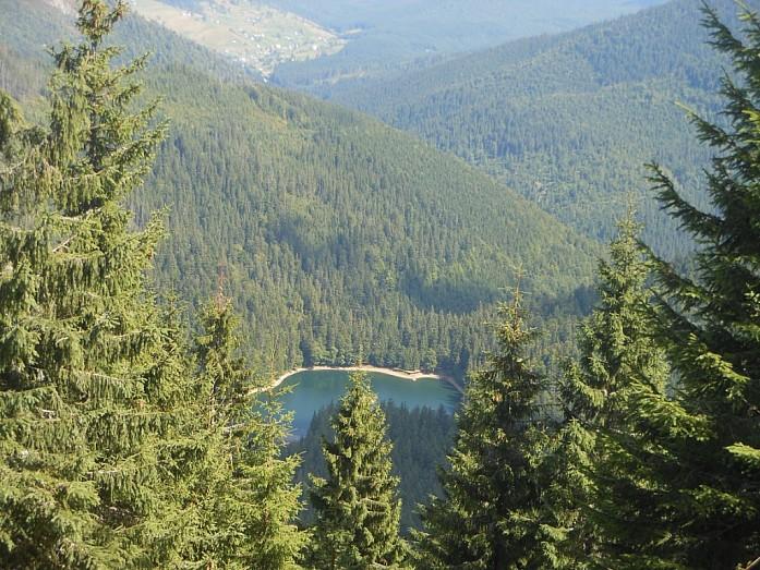озеро Синевир.