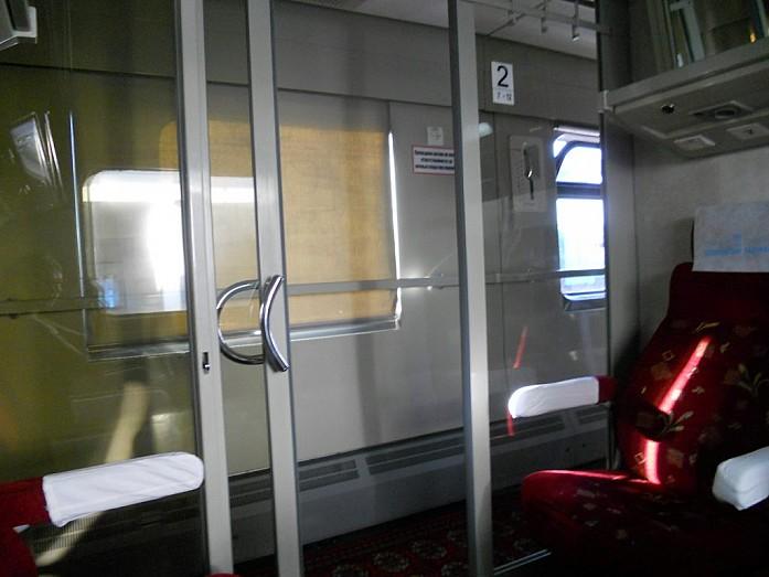 Поезд из Ташкента в Самарканд. И это 2-й класс!