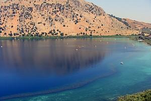 Крит: от озера Курна к Ливийскому морю