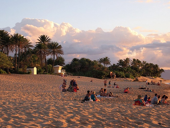 Пляжи Оаху. Избранное