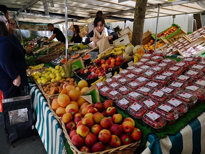 Продуктовые рынки Парижа, как отдельный вид развлечения