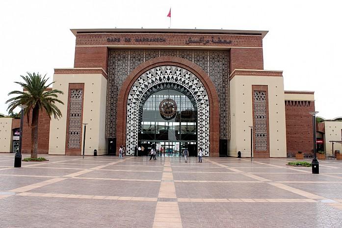 Вокзал в Марракеше