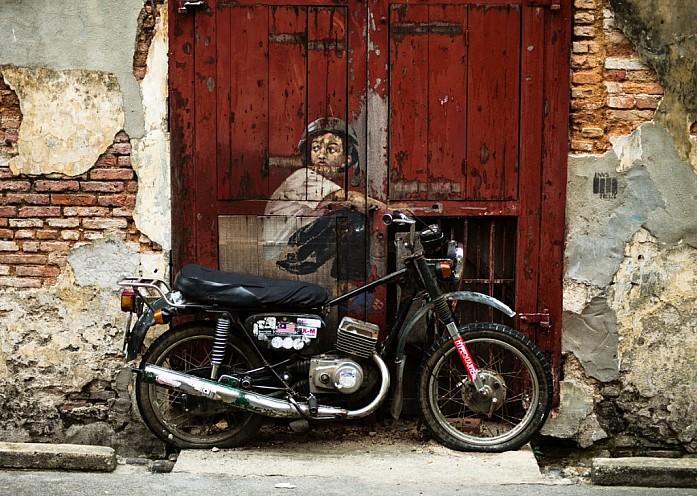 Старый мотоцикл. Фото - Доронин Кирилл