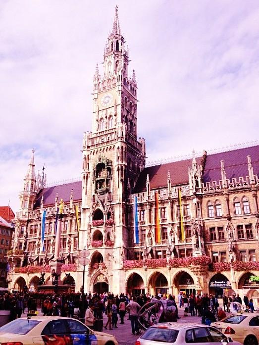 Центральная площадь Мюнхена