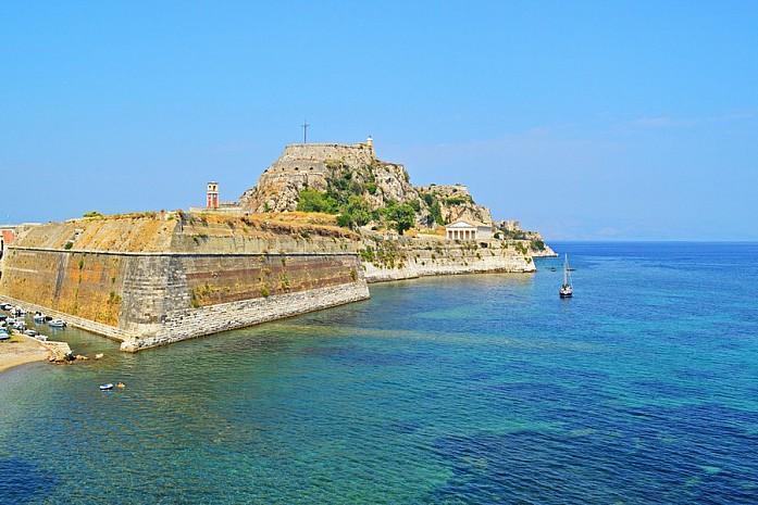 Крепость в Керкире