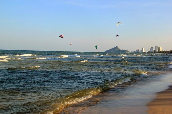 Кайтсерфинг в Хуа Хине