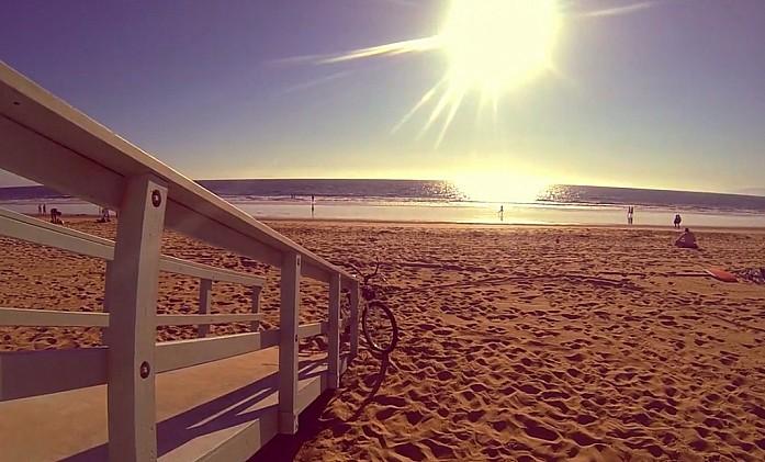 Где-то между Venice beach и Santa Monica beach